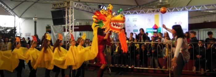 Passaporte da Leitura - Caxias do Sul - O dragão chinês da E.M.E.F. Santa Lúcia